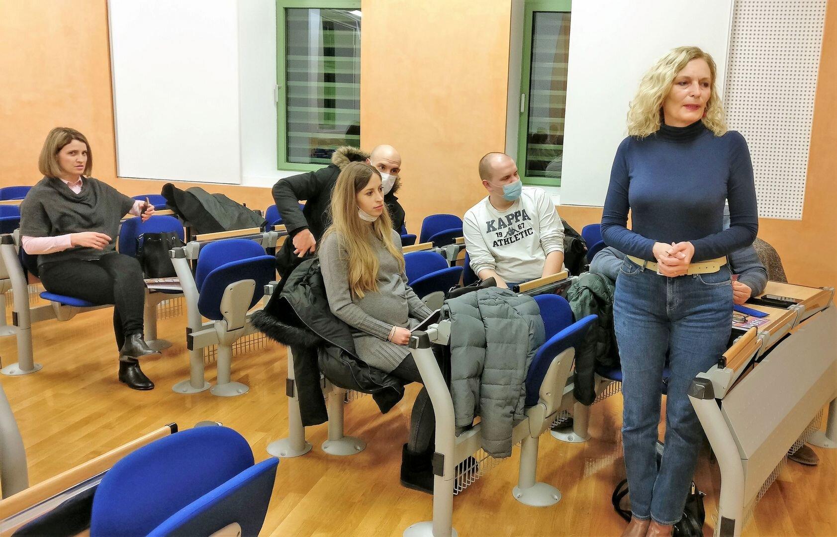 Dr. Sc. Ružica Pšihistal, Predsjednica UKI-ja, Najavila Je Duhovnu Obnovu Katoličkih Intelektualaca U Osijeku,5.3.21.