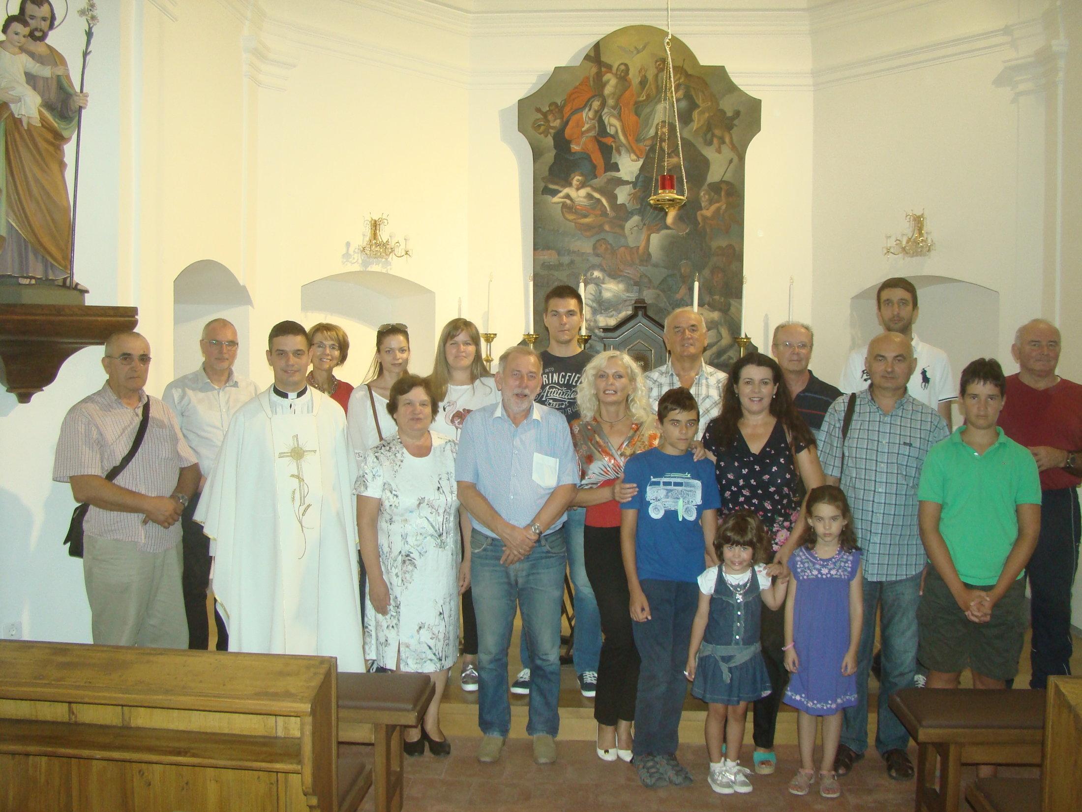 Zajednička Fotografija UKI-jevaca Na Spomendan Sv. Augustina 2018.,Osijek