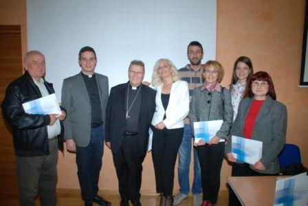 Dio UKI-jeva Predsjedništva Sa Nadbiskupom Đ.Hranićem,15.11.19.
