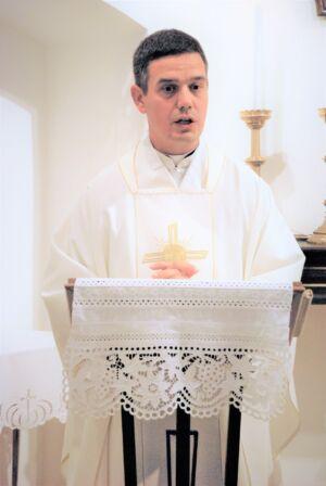 Duhovnik UKI-jev V. Sedlak Propovijeda,28.8.20.