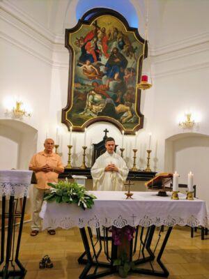 Misu Je Predvodio Vl. Vladimir Sedlak,Osijek,28.8.20.