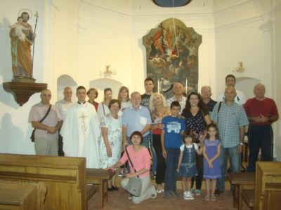 UKI I članovi Njihovih Obitelji Proslavili Spomendan Sv. Augustina,Osijek,kapela Sv. Roka,28.8.18.