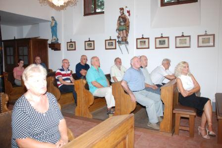 Lanovi UKI-ja Slušaju Uvod U Misu Na Spomendan Sv. Augustina U Osijeku,28.8.19.