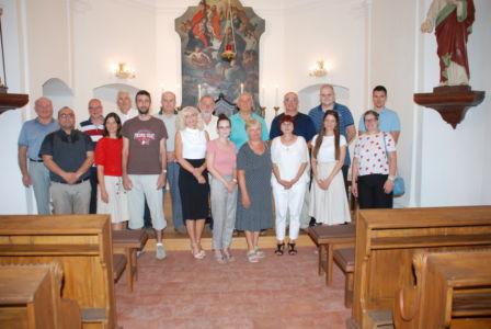 UKI U Zajedništvu Poslije Mise Na Spomendan Sv. Augustina, Crkva Sv. Roka U Osijeku
