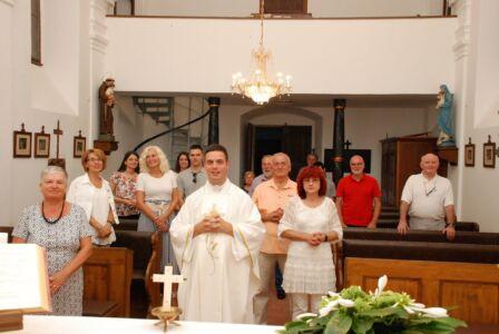 Udruga Katoličkih Intelektualaca Na Kraju Mise U Osijeku,28.8.20.